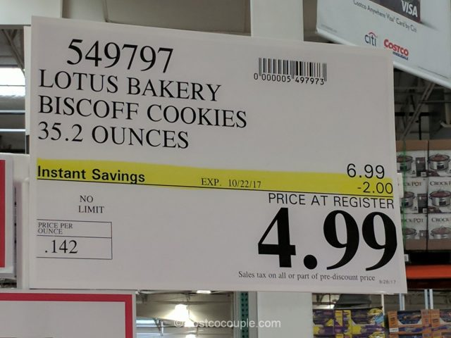 Lotus Biscoff Cookies Costco