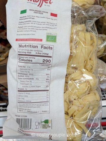 Maffei Fresh Organic Italian Fettuccine Costco