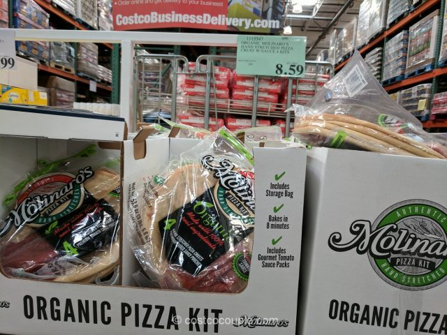 Molinaro's Organic Hand Stretched Pizza Kit Costco