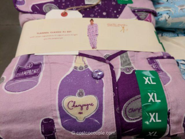 Munki Munki Ladies Classic Flannel Pajama Set