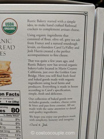 Rustic Bakery Organic Rosemary Bites Costco