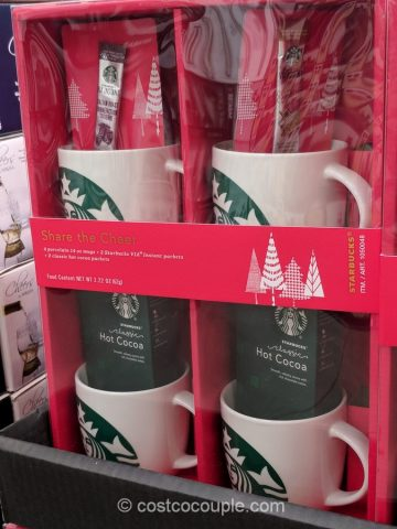 Starbucks Porcelain Mug Gift Set Costco