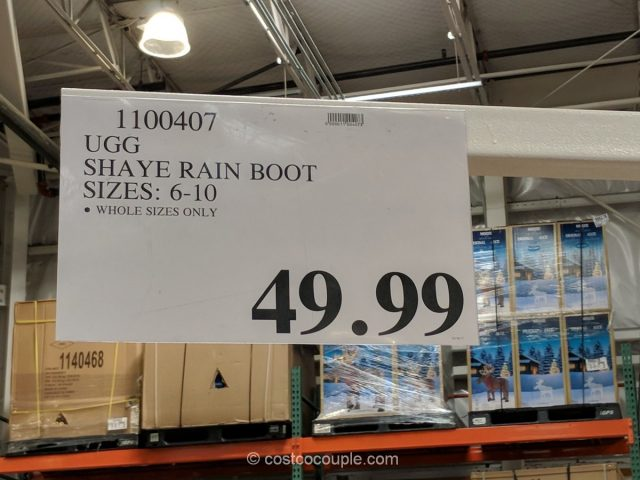 Ugg Shaye Rain Boot Costco