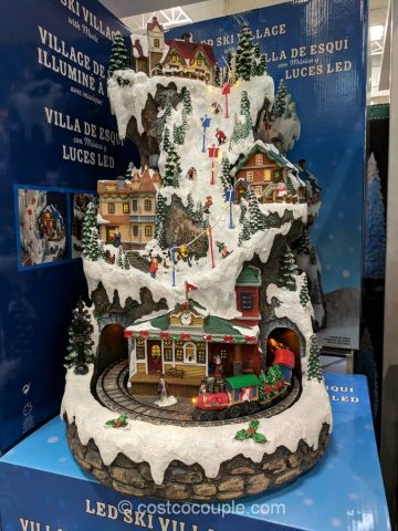 20-Inch LED Ski Village Tower Costco