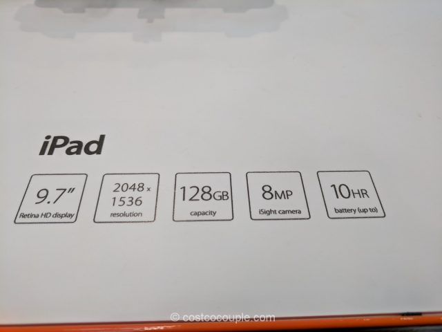 Apple iPad 128 GB Costco