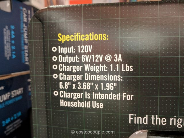 Battery Tender 3A Battery Charger Costco