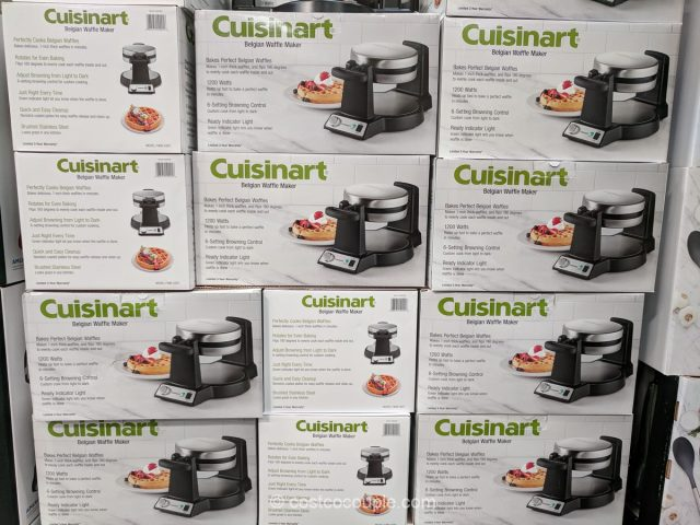 Cuisinart Belgian Waffle Maker Costco
