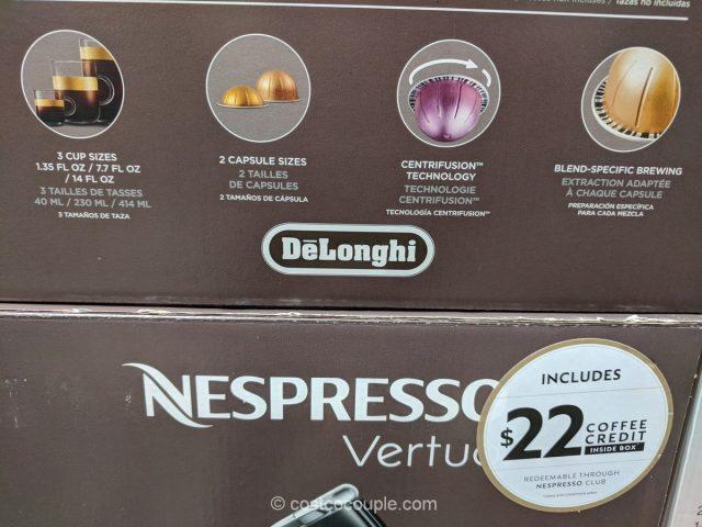 DeLonghi Nespresso Vertuo Line Evoluo Titan Costco