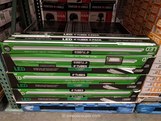 Feit Electric 4' LED tubes Costco