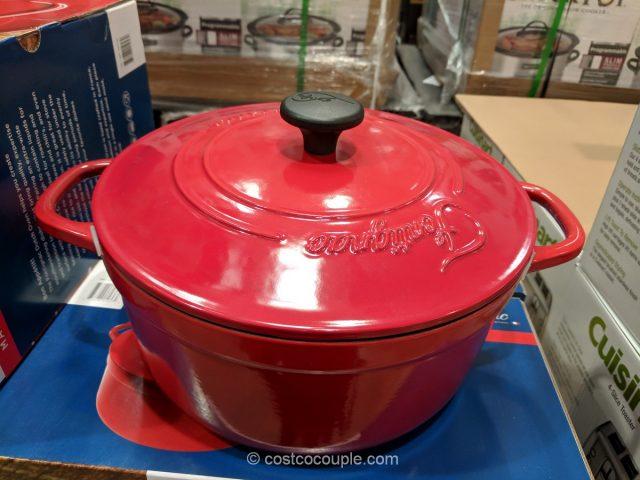 Fontignac 5.5Qt Cast Iron Dutch Oven Costco