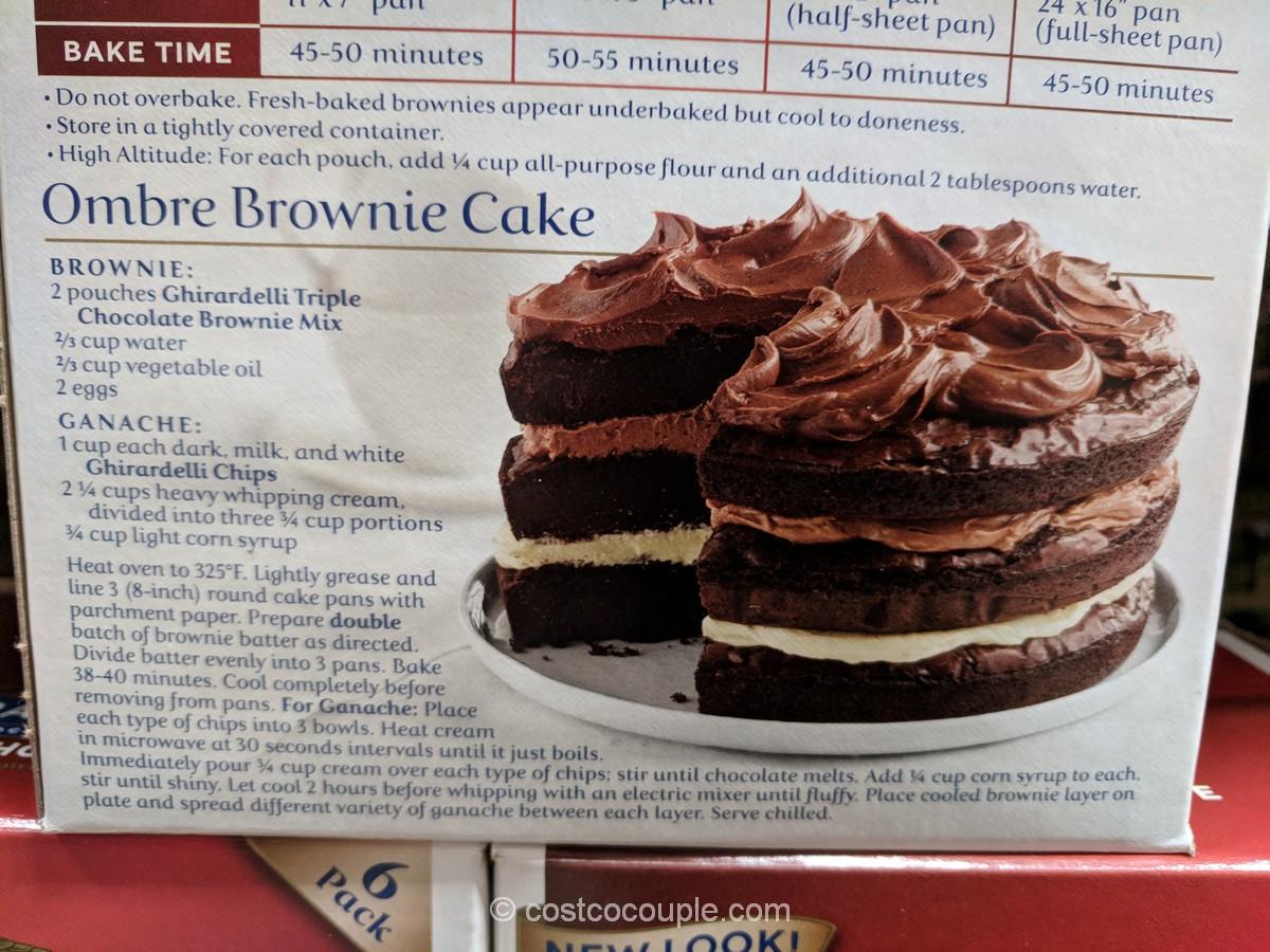 Ghirardelli Triple Chocolate Browne Mix