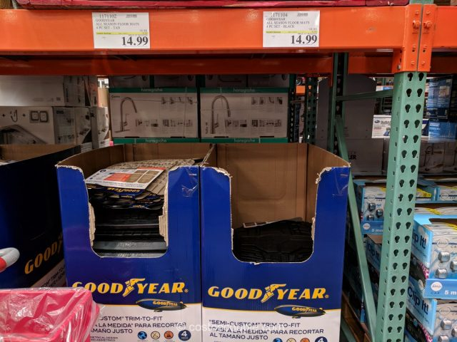 Goodyear all season auto floor mats Costco