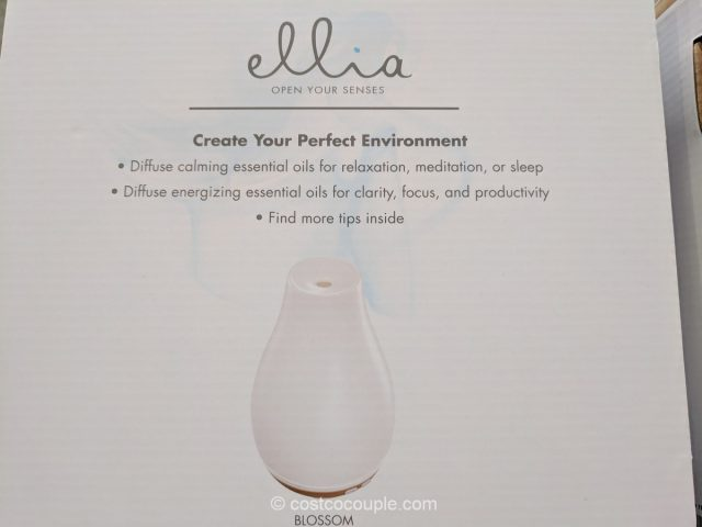 Homedics Ellia Ultrasonic Aroma Diffuser Costco