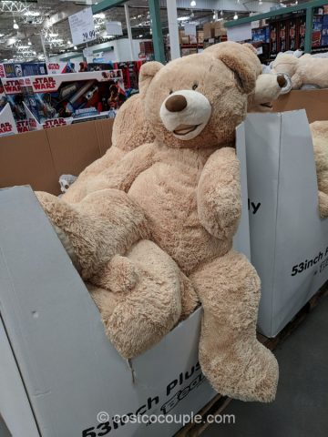 Hugfun 53-Inch Plush Bear Costco