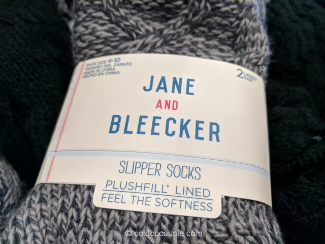 Jane and Bleecker Slipper Socks Costco