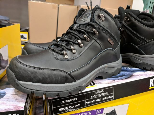 Khombu Men's Leather Boots Costco