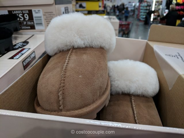 Kirkland Signature Ladies Shearling Slipper Costco