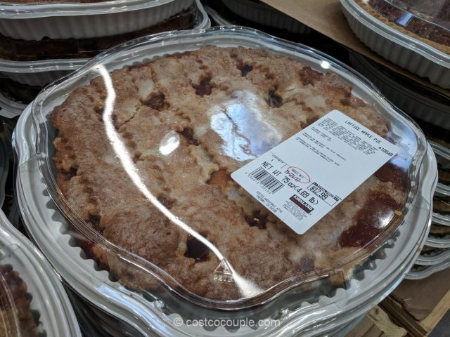 Lattice Apple Pie Costco 1