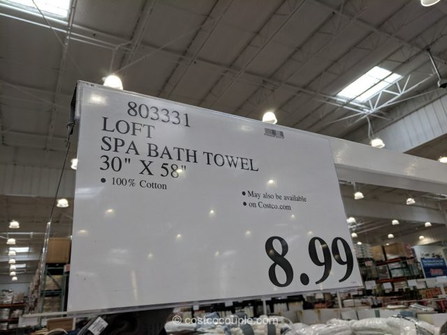 Loft Spa Bath Towel Costco
