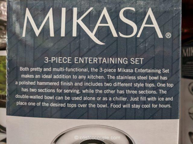 Mikasa 3-Piece Entertaining Set Costco