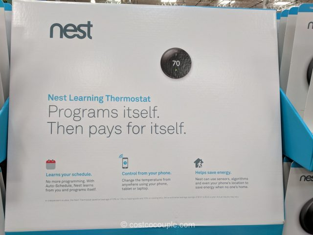 Nest LearningThermostat Costco