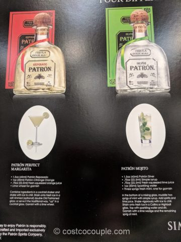 Patron Tequila Collection Costco