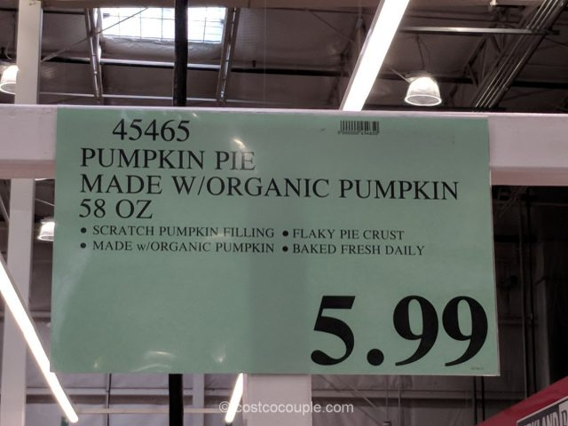 Pumpkin Pie Costco