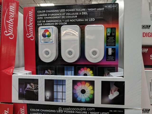 Sunbeam LED Power Failure Night Light Costco