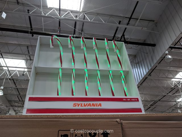 Sylvania Candy Cane Pathway Lights Costco