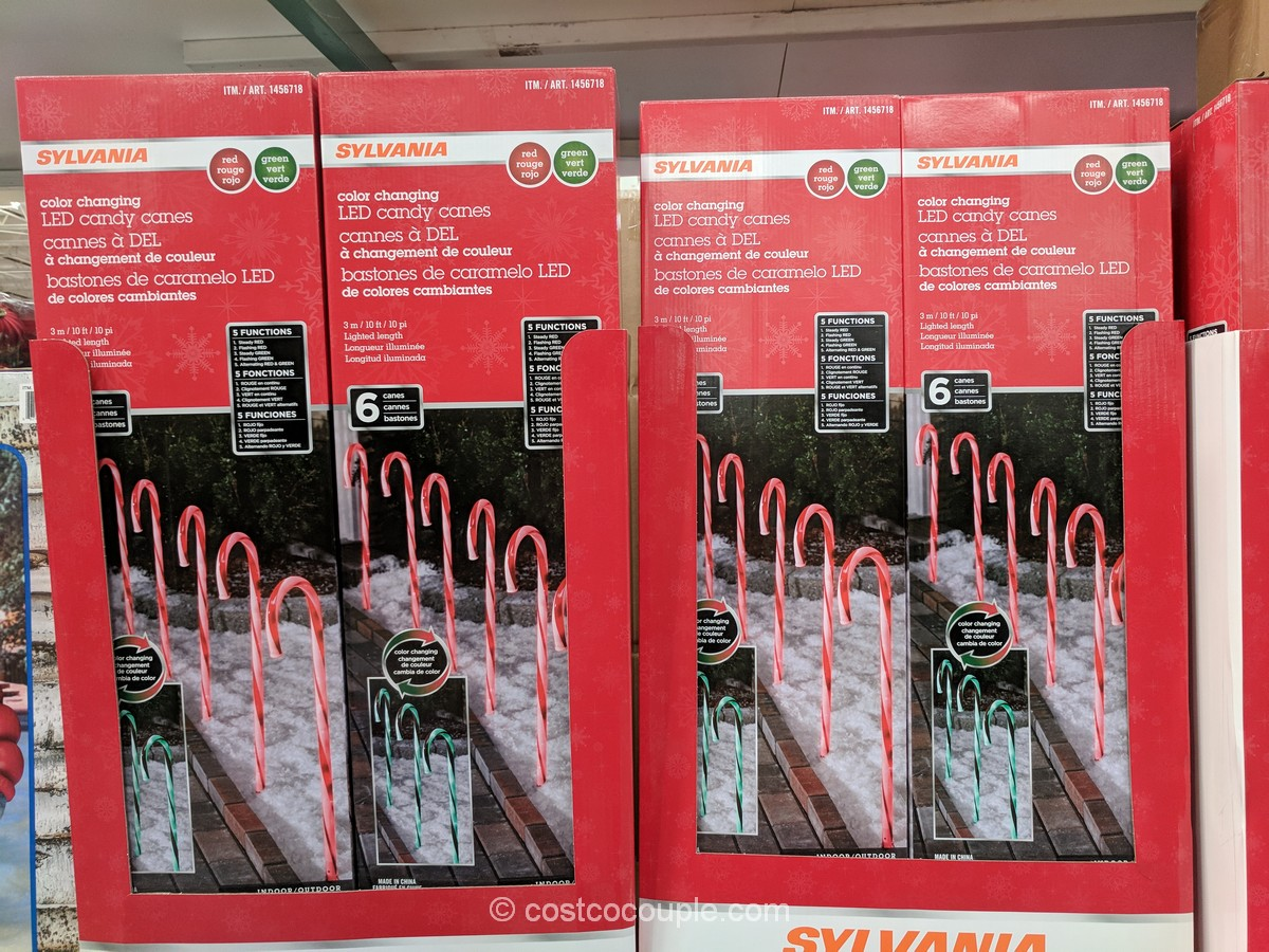 Sylvania Candy Cane Pathway Lights