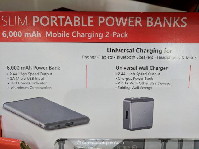 Ubio Labs Slim Portable Power Bank Costco X on Zero Gravity Chair Costco