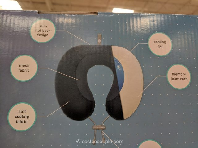 Airia Living ThermaFlip Travel Pillow Costco