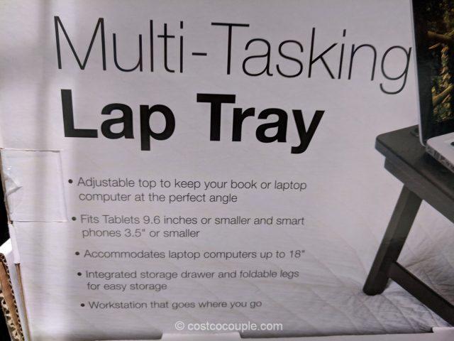 Birdrock Home Multi-Tasking Lap Tray Costco