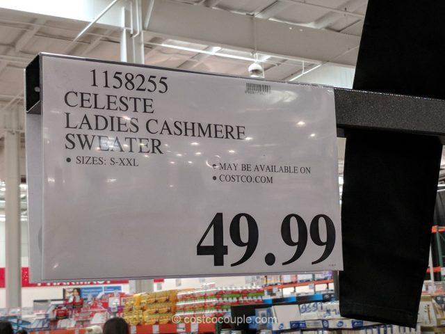 Celeste Ladies Cashmere Sweater Costco