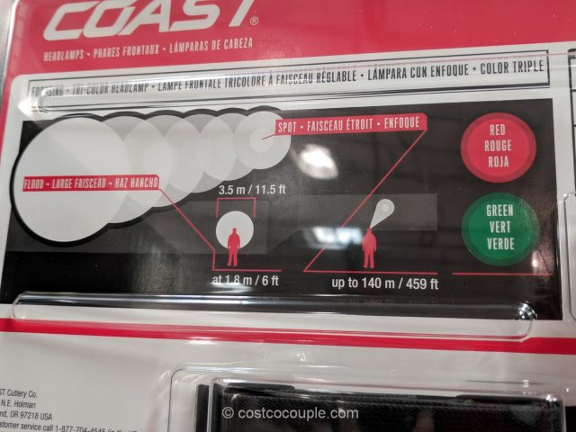 Coast LED Headlamps Costco