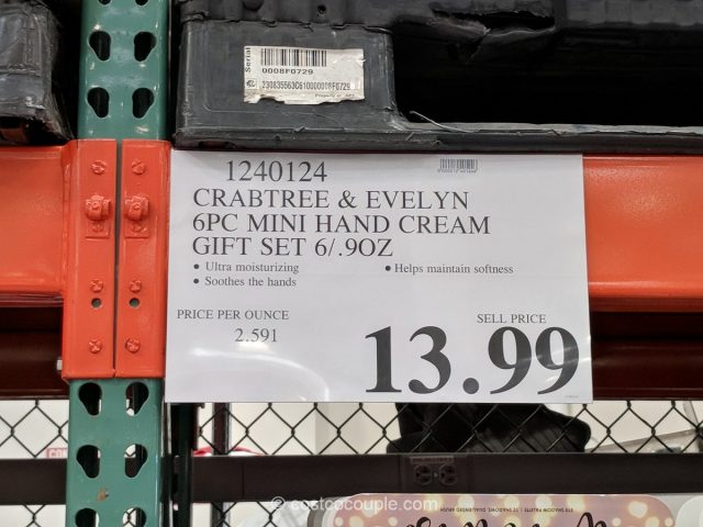 Crabtree and Evelyn 6-Piece Mini Hand Cream Set Costco