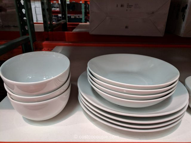& Denmark 12-Piece Dinnerware Set