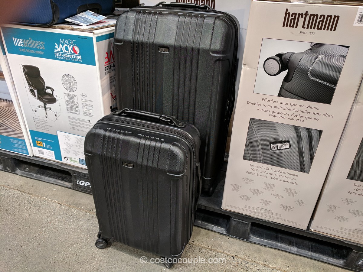 Hartmann Veracity 2 Piece Hardside Luggage Set Read on to see our shopping at costco is truly a unique experience, but with its great prices it can be hard to leave. costcocouple