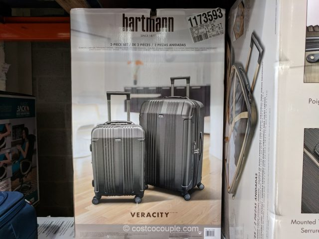 Hartmann Veracity 2-piece Hardside Luggage Set Costco