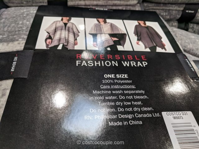 Ike Behar Reversible Wrap Costco