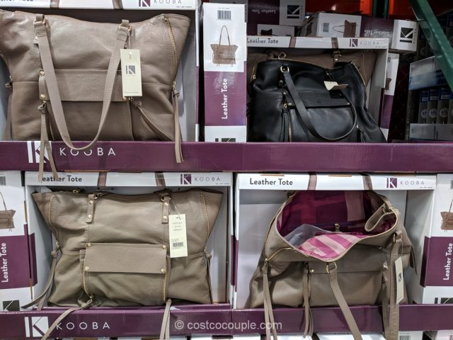 Kooba Leather Tote Costco