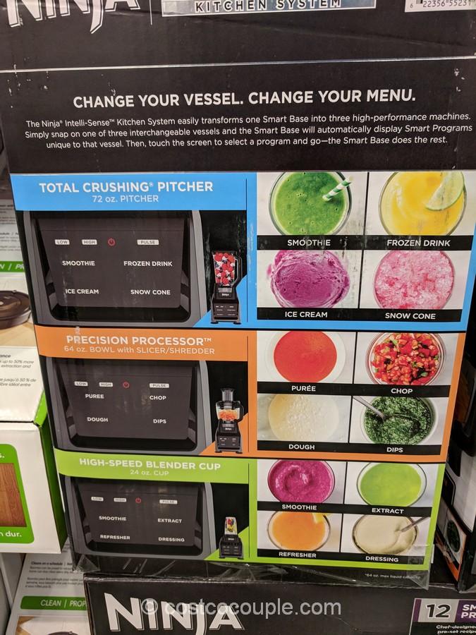 Ninja Intelli Sense Kitchen System With Food Processor