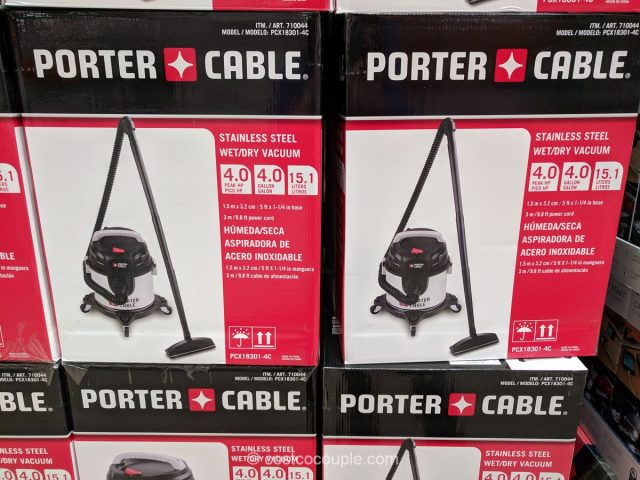 Porter Cable Wet Dry Vacuum Costco