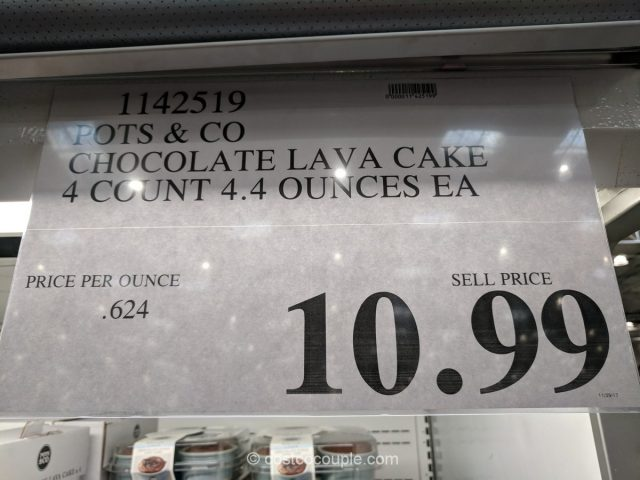 Pots and Co Chocolate Fudge Lava Cake Costco