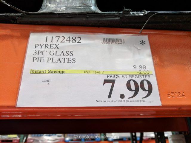 Pyrex Pie Plates Costco