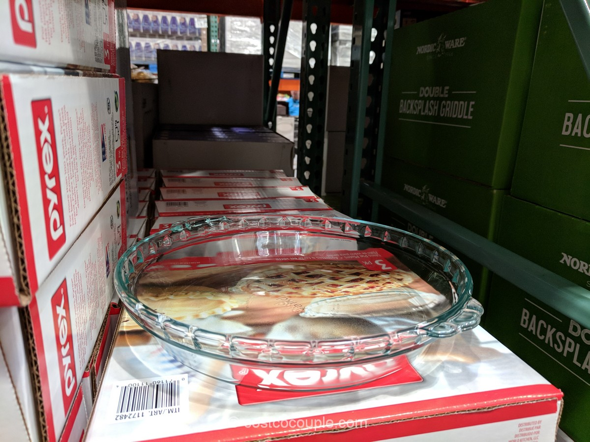- Pyrex Pie Plates