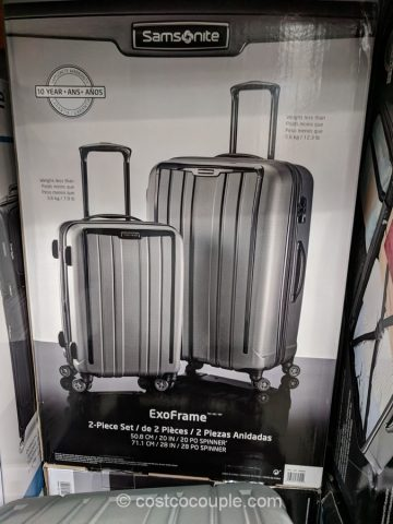 Samsonite ExoFrame 2-piece Spinner Set Costco