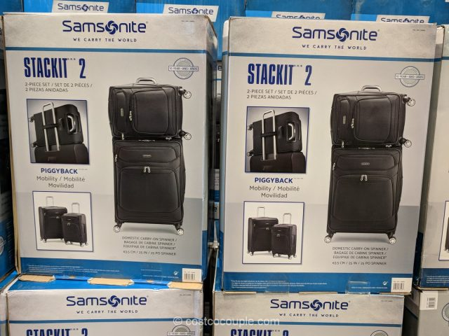 Samsonite Stack-It Luggage Set Costco