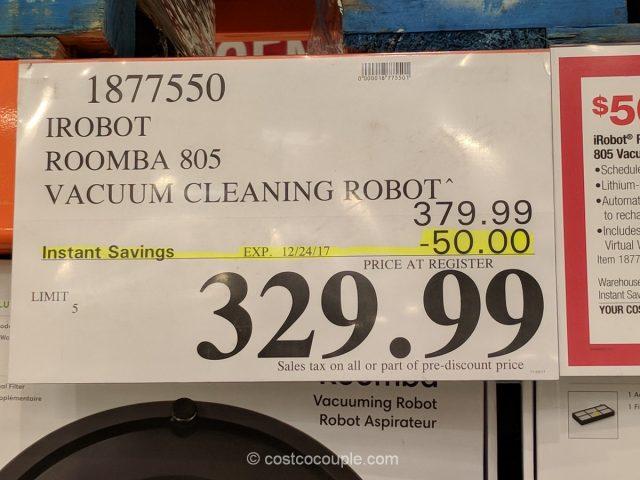 iRobot Roomba 805 Costco