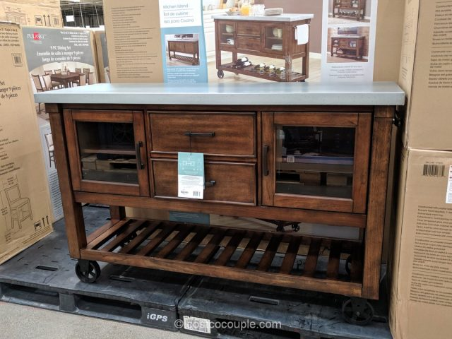 Bayside Furnishings Kitchen Island Console Costco